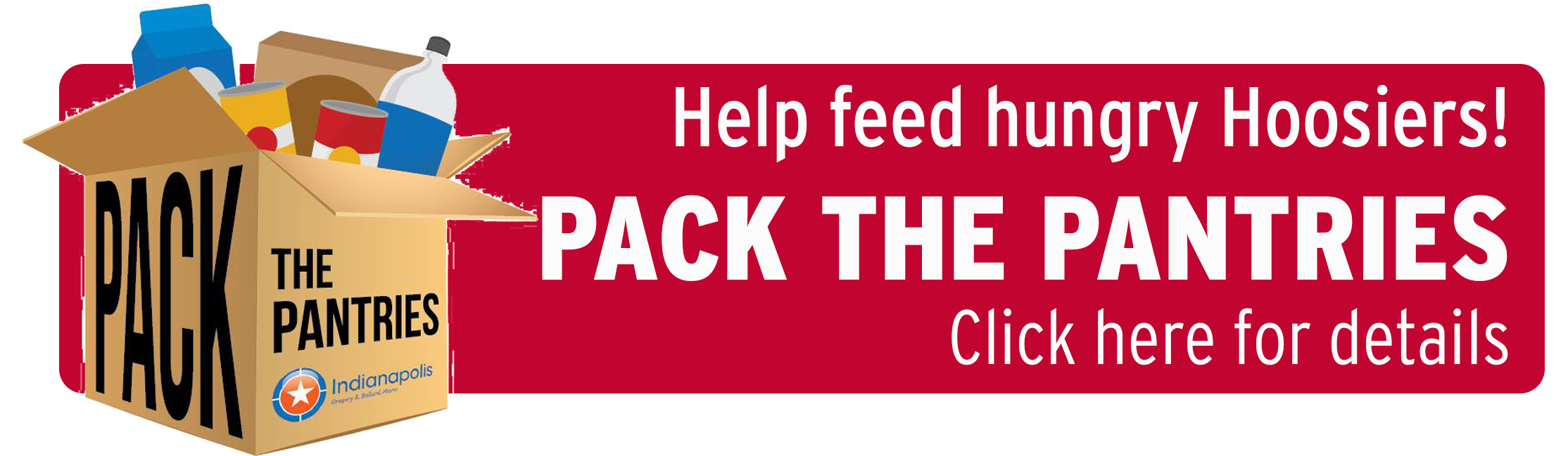 Pack the pantries web banner